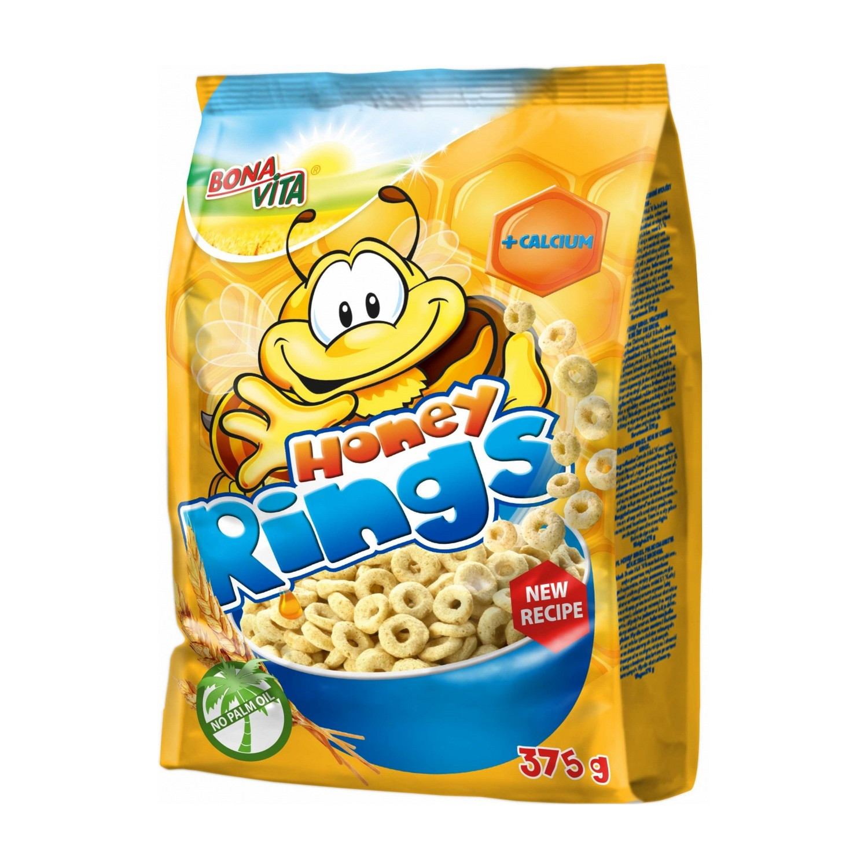 მშრალი საუზმე – თაფლის რგოლები