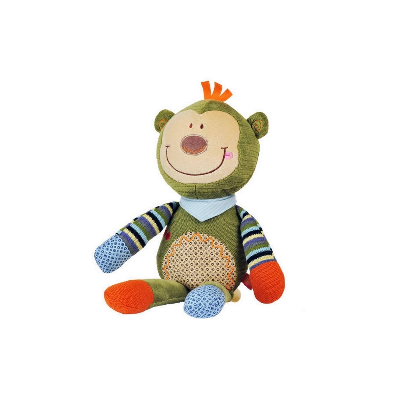 რბილი სათამაშო საჩხარუნოთი (მაიმუნი)